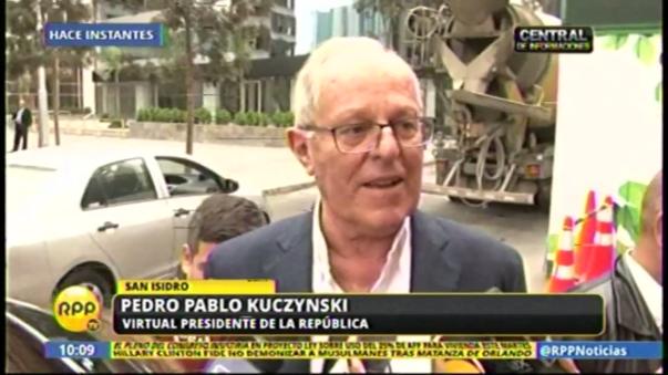 PPK también habló de la selección peruana.