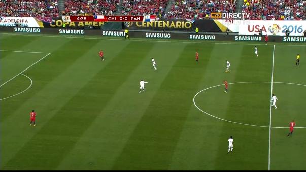 Resumen del triunfo 4-2 de Chile sobre Panamá.