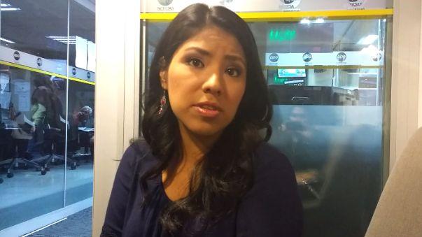 Indira Huilca conversó con RPP sobre el rol del Frente Amplio en el Congreso y el próximo Gobierno