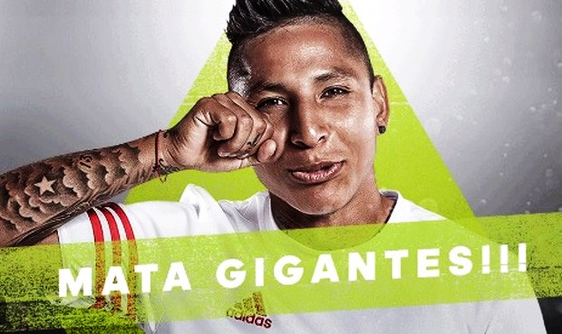 Raúl Ruidíaz lleva 15 partidos con la Selección Peruana y 3 goles.