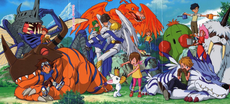 La canción de introducción de Digimon.