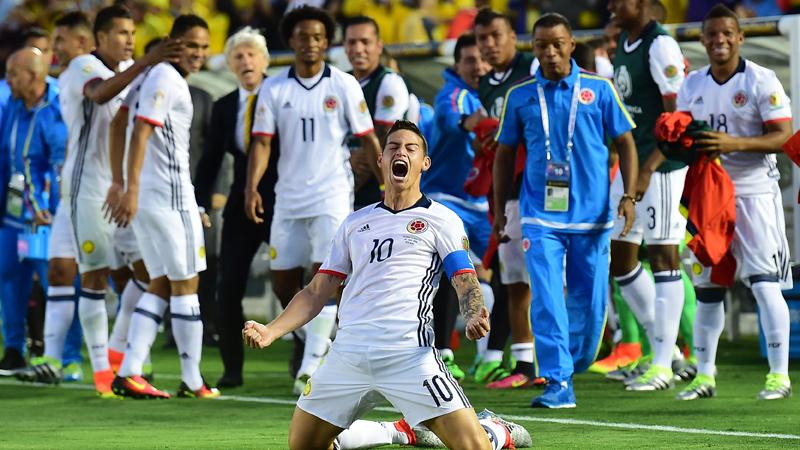 Colombia venció 2-1 a Paraguay en la segunda fecha.