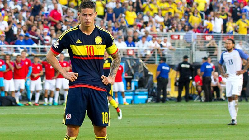 Colombia derrotó 2-0 a Estados Unidos en el encuentro inaugural.