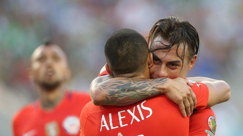 Chile humilló a México en la Copa América.