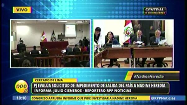Fiscal reveló carta de Hugo Chávez sobre dinero en el Partido Nacionalista, aunque dijo que faltaba pasar peritaje.