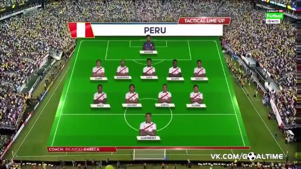 La Selección Peruana luchó hasta el final.