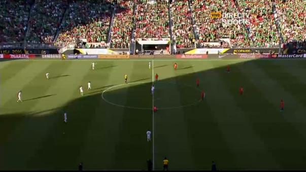 Revive todos los goles que Chile le propinó a México en la Copa América.