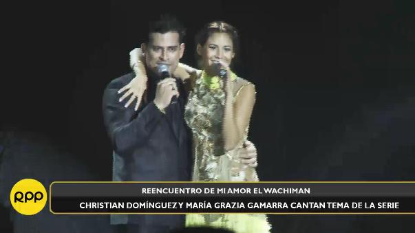 Maria Grazia Gamarra y Christian Domínguez, estrellas de la recordada Mi Amor, El Wachiman