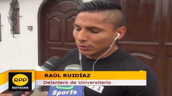 Raúl Ruidíaz admitió que gol ante Brasil fue con la mano.