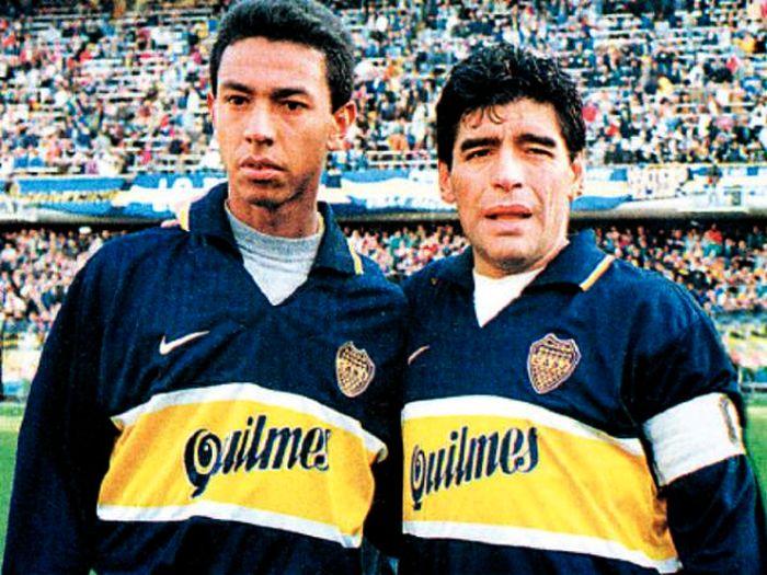 Nolberto Solano brilló en Boca Juniors y luego emigró a Inglaterra.