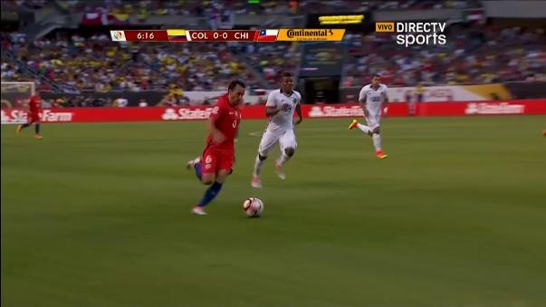 Revive aquí los dos goles de Chile sobre Colombia.