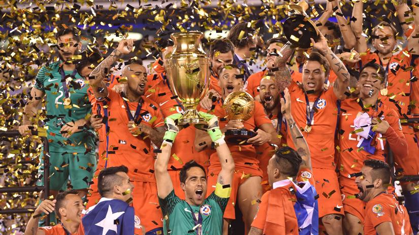 Chile salió campeón de la Copa América Centenario.