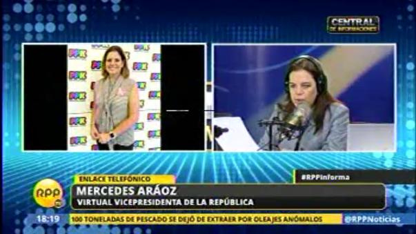 Mercedes Aráoz confirmó a Alfredo Thorne, Martín Vizcarra y Jaime Saavedra como ministros del gobierno de PPK.