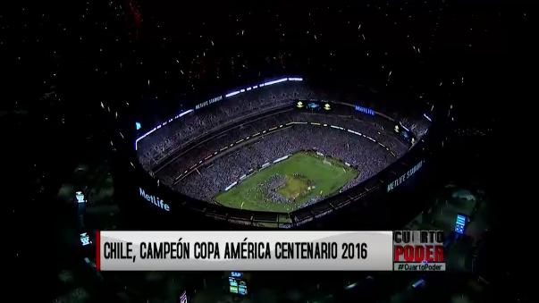 Chile campeón de la Copa América Centenario.