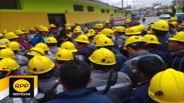 Huelga de trabajadores.