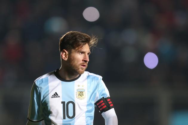 Lionel Messi falló su disparo en la tanda de penales de Argentina.