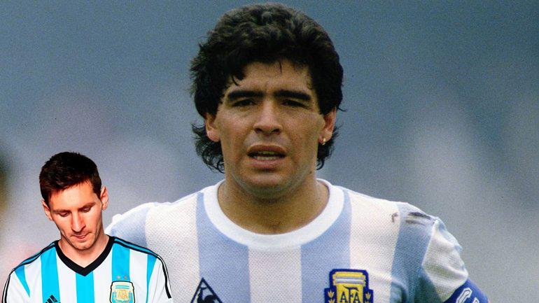 Diego Maradona también renunció a la Selección Argentina en 1990.