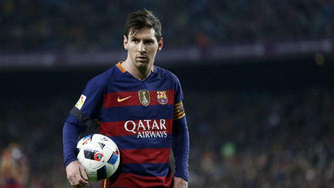 Lionel Messi es el máximo goleador en lo que va del año 2016.