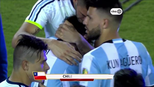 La conmovedora reacción de Lionel Messi tras perder la final de la Copa América Centenario.