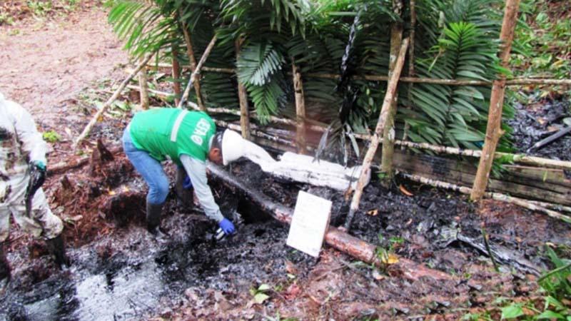 Minam presentará una demanda ante el Ministerio Público por el derrame de petróleo ocurrido hace unos días en Loreto.