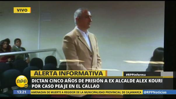 Prisión para el también exgobernador del Callao será efectiva.