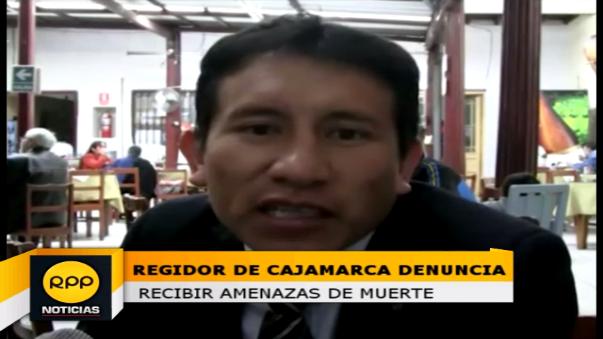 Regidor Alberto Arana indicó que como regidor su trabajo es fiscalizar.