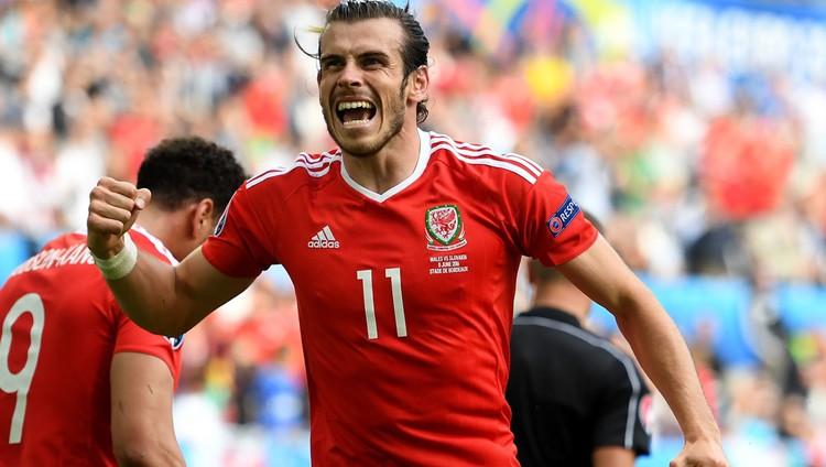 Gareth Bale lleva tres goles en la Eurocopa y es el goleador del torneo.