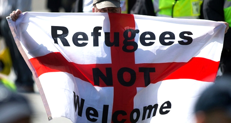 Musulmanes y extranjeros en general han sido blancos de hostigamiento y racismo.