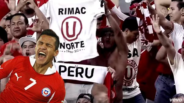 En el minuto 3:08 aparece en el video oficial un grupo de hinchas de Universitario apoyando a la Selección Peruana.