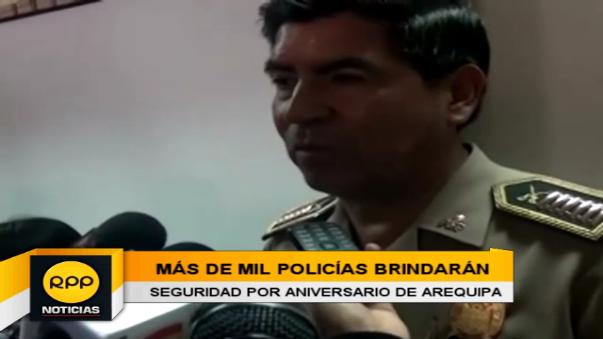 La policía nacional realizará operativos y patrullaje para garantizar la seguridad.