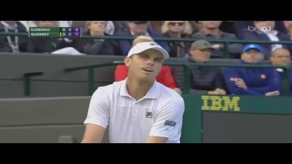 Revive las mejores jugadas del duelo Novak Djokovic vs. Sam Querrey.