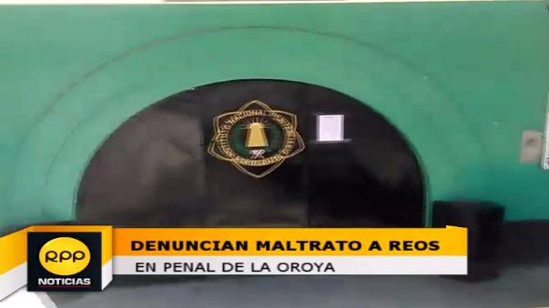 Penal de La Oroya.