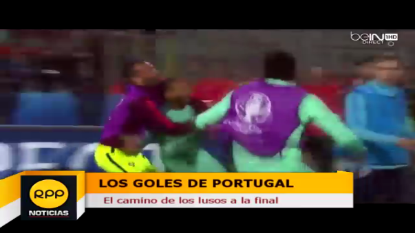 Portugal ha marcado 8 goles en su ruta a la final de la Eurocopa.