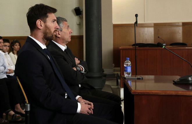 Messi y su padre podrán evitar la cárcel al no ser la pena superior a los dos años.