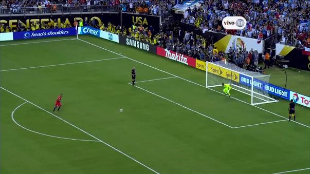 Revive aquí la tanda de penales de la final de la Copa América Centenario, que tuvo como ganador a Chile sobre Argentina por 4-2.