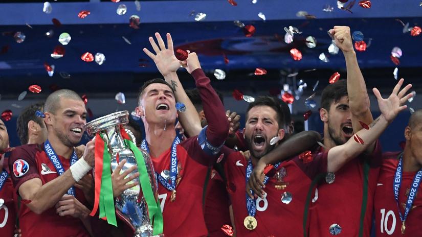 Portugal salió campeón en la Eurocopa 2016.