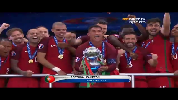 Portugal conquistó la Eurocopa el domingo tras ganar a Francia con un solitario gol de Éder (109').