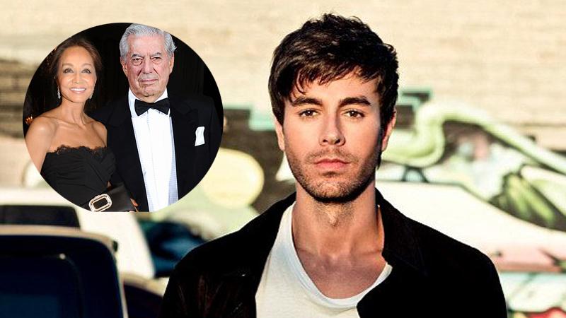 Enrique Iglesias habló sobre la relación de su madre con Mario Vargas LLosa.