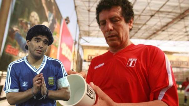 El 'chicho' Serna reconoció la superioridad de César Cueto sobre Diego Maradona.