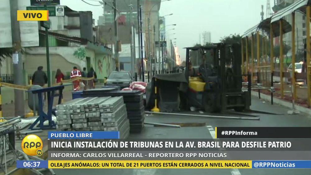 En los próximos días se cerrarán más cuadras de la avenida Grau.