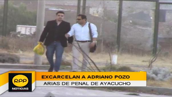 Adriano Pozo Arias fue excarcelado
