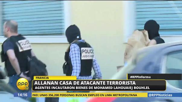 Este viernes la autoridades francesas allanaron la casa de Mohamed Bouhlel.