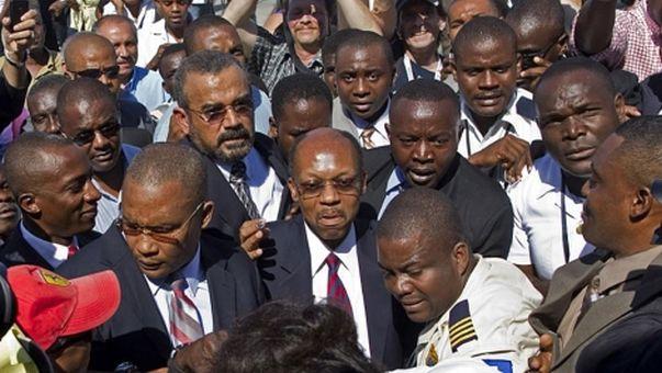 Aristide recién pudo volver a Haití en el 2011