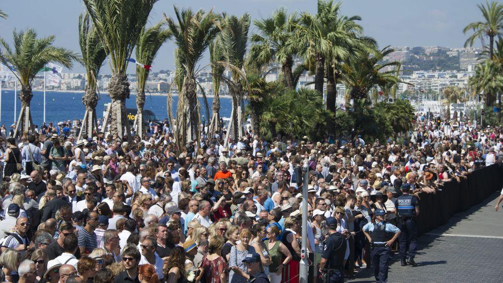 En la víspera se realizó un multitudinario homenaje a las víctimas de la matanza del 14 de julio.