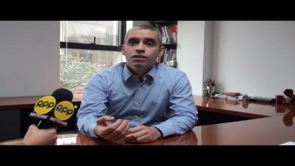 Rolando Arellano Bahamonde, presidente de la Sociedad Peruana de Marketing, en entrevista con RPP Noticias.