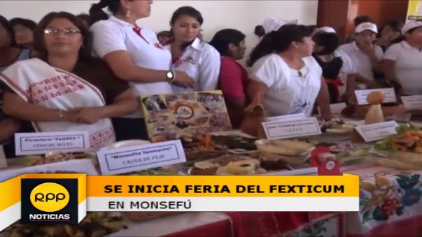 Feria del Fexticum se realiza en la 'Ciudad de las Flores' Monsefú.