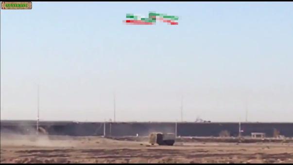 Los militares chiies evitaron que el camión bomba llegara a su destino.