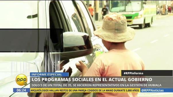 Solo 5 de 35 programas sociales se hicieron representativos en el gobierno de Ollanta Humala.