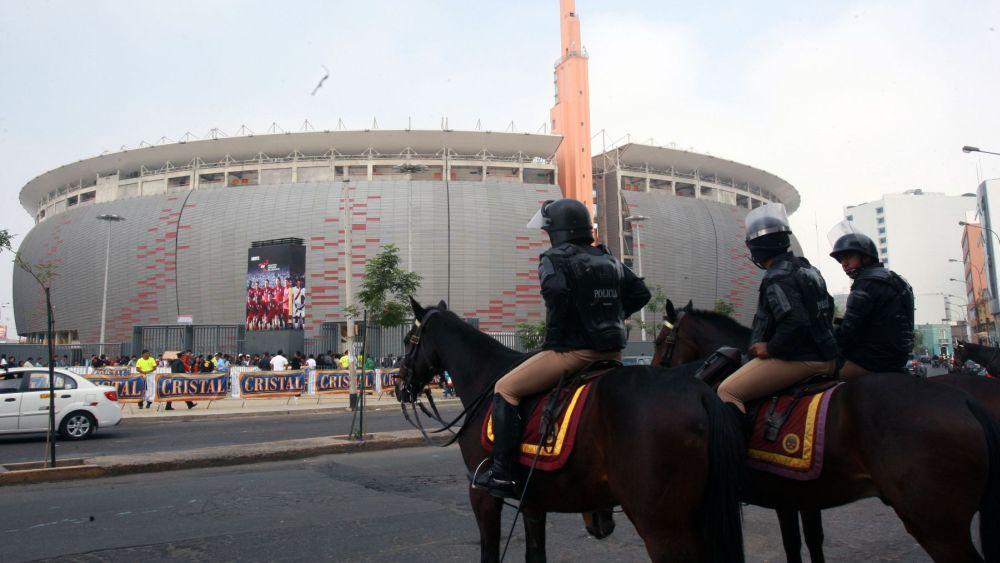 La Policía no permitirá la preconcentración de barristas antes del partido.