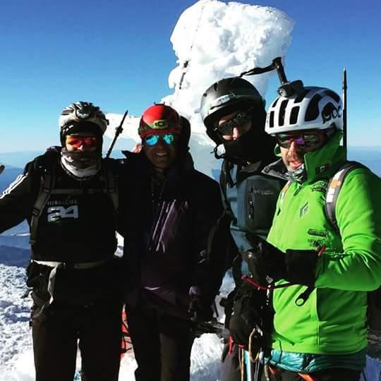 Tres montañistas perdieron la vida en el Huascarán.